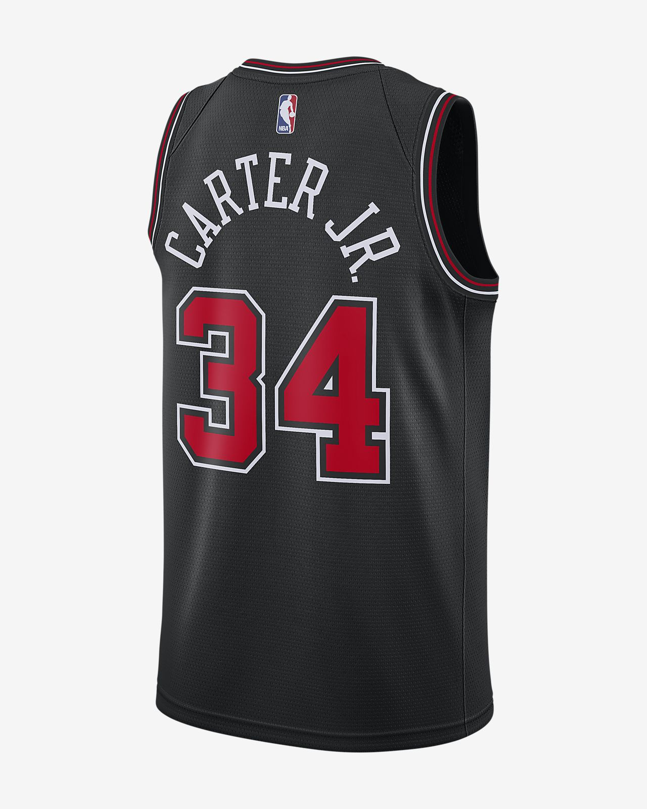 reputable site ce663 0644a Wendell Carter Statement Edition Swingman (Chicago Bulls) Men's Nike NBA  Connected Jersey