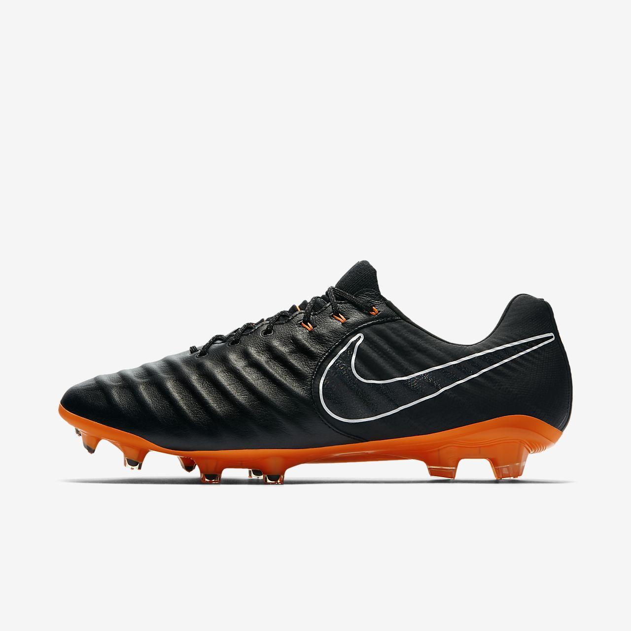 Nike JR Legend 7 Elite FG Blanc - Chaussures Football Homme