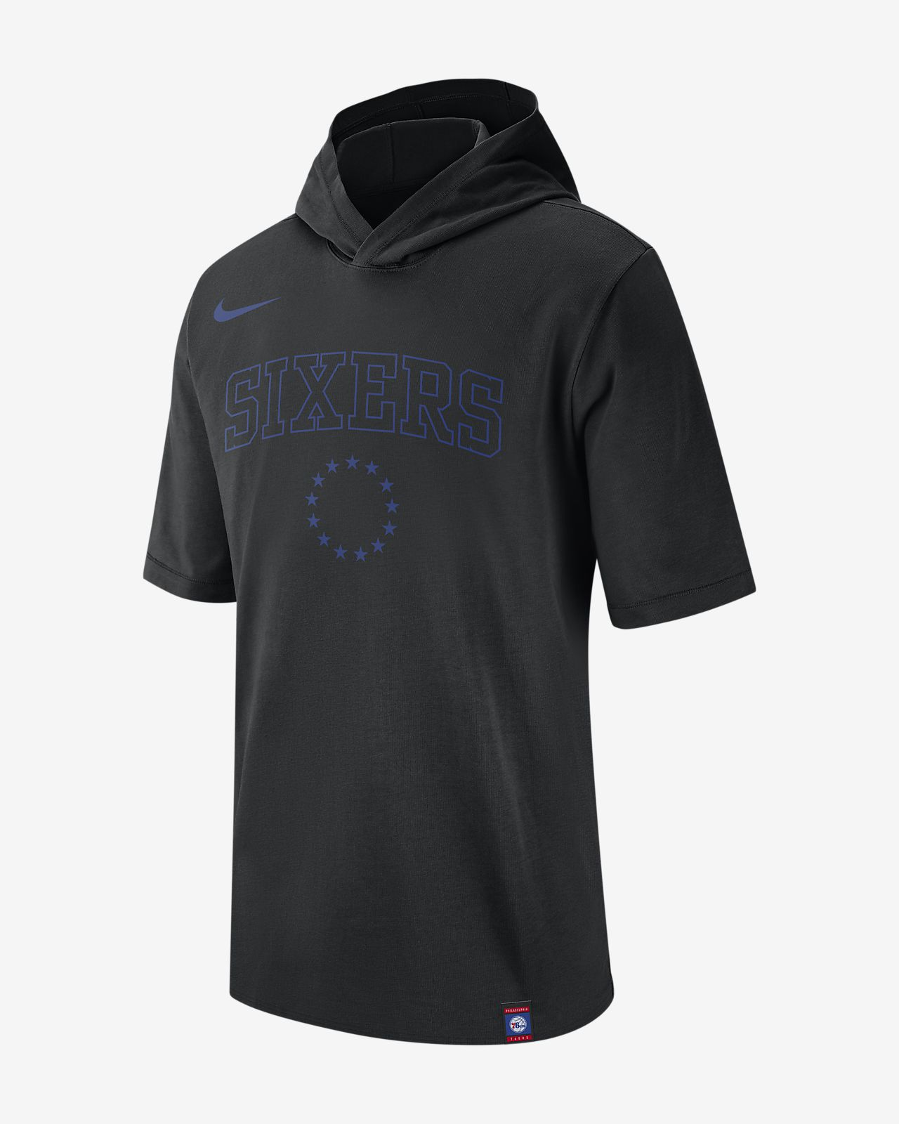 费城 76 人队 Nike 男子 NBA 连帽T恤
