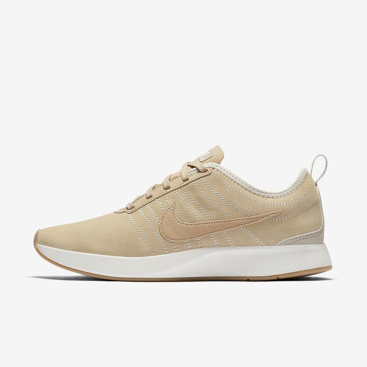 NIKE WOMENS DUALTONE RACER SE SZ 6 MUSHROON WHITE GUM BROWN KHAKI 940418 200