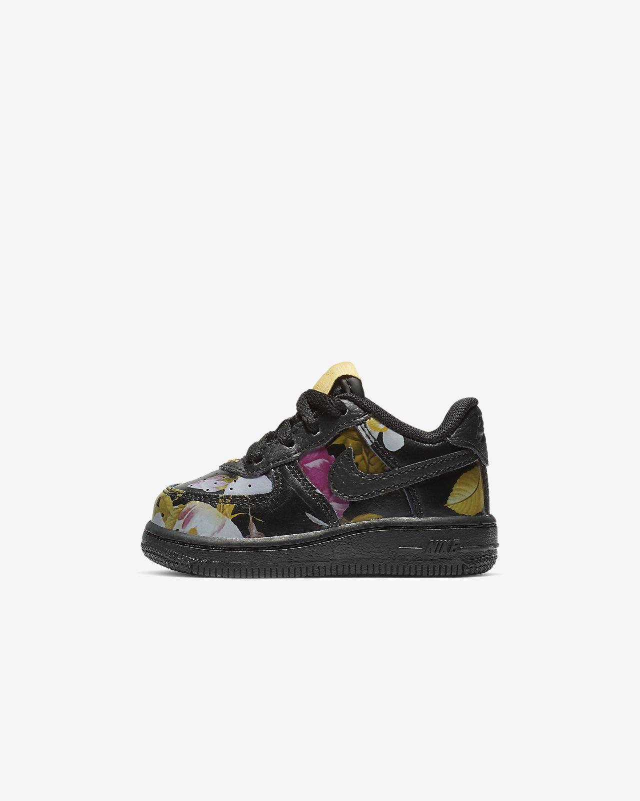 Nike Force 1 LXX Schuh mit Blumendesign für Babys und Kleinkinder
