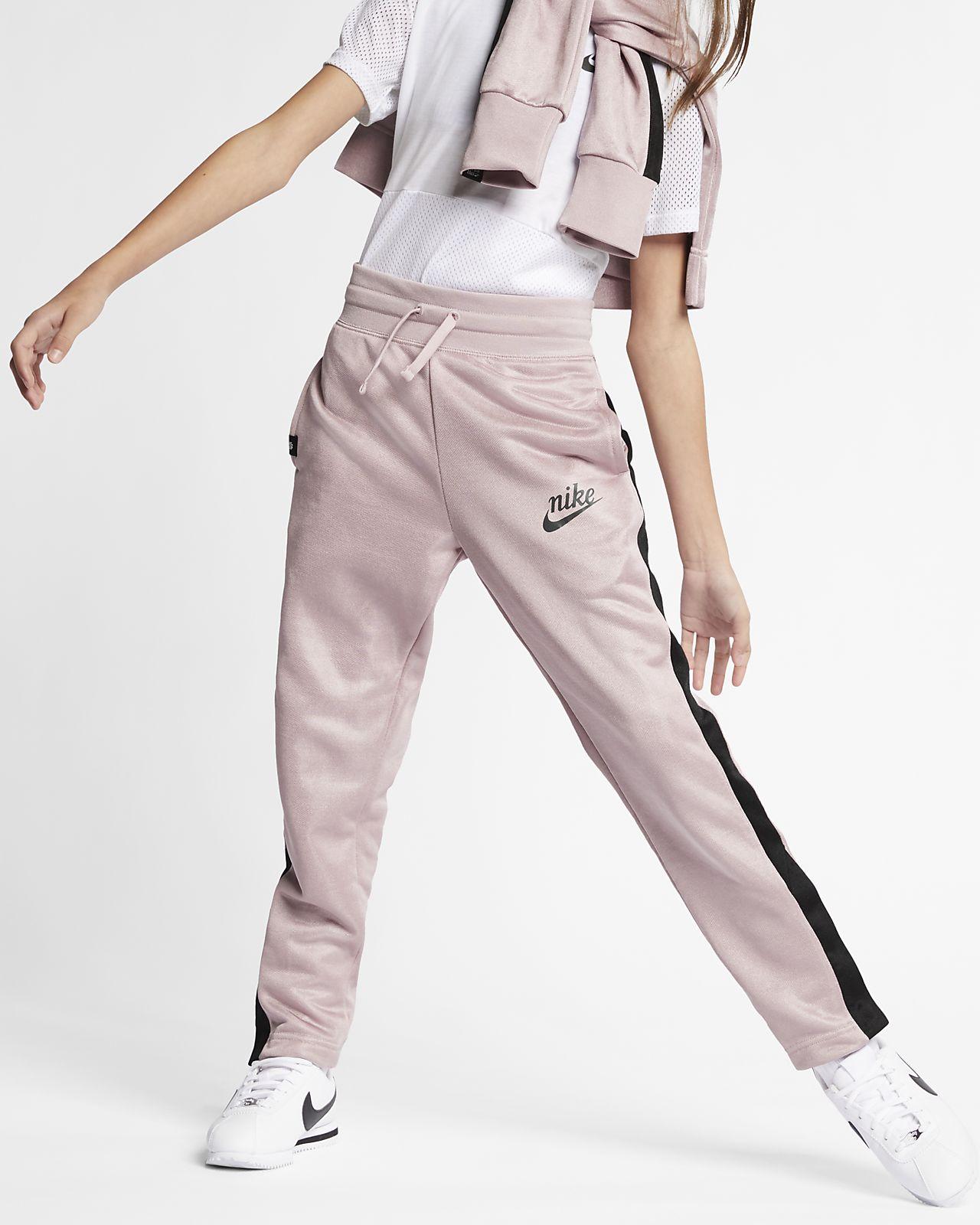 fc35ab980 ... Spodnie z dzianiny dla dużych dzieci (dziewcząt) Nike Sportswear