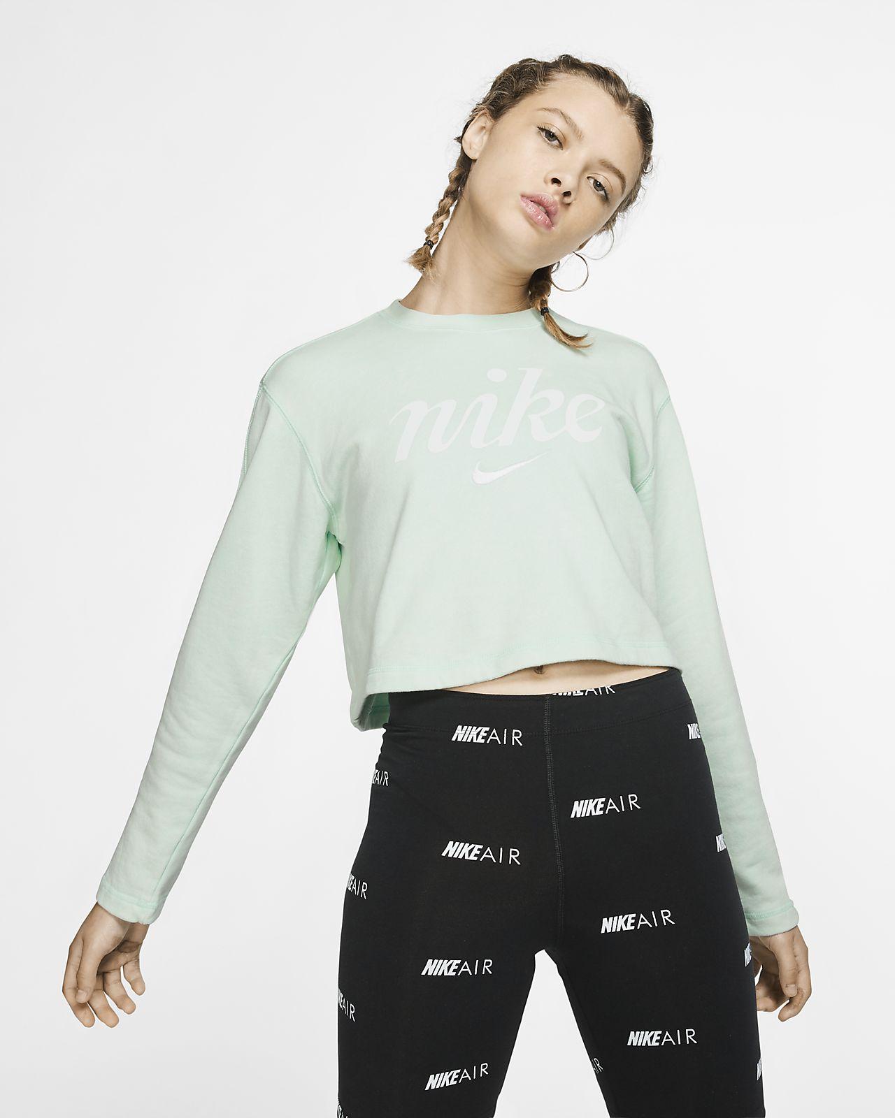 Nike Sportswear rövid szabású női pulóver