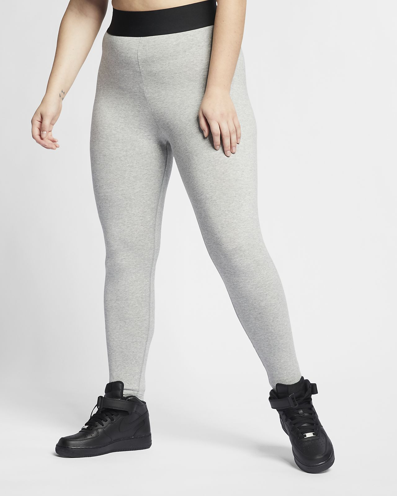 116f8a7638a6e ... Nike Sportswear Leg-A-See Women's High-Rise Leggings (Plus Size)