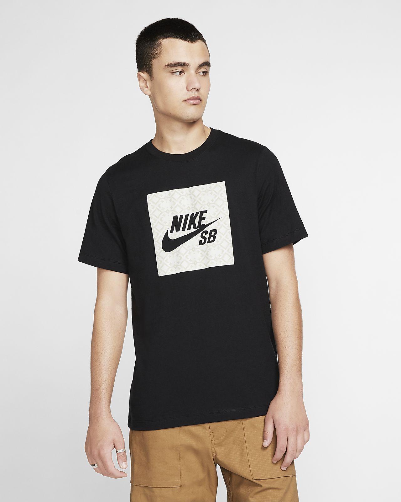 Nike SB-skater-T-shirt med logo til mænd