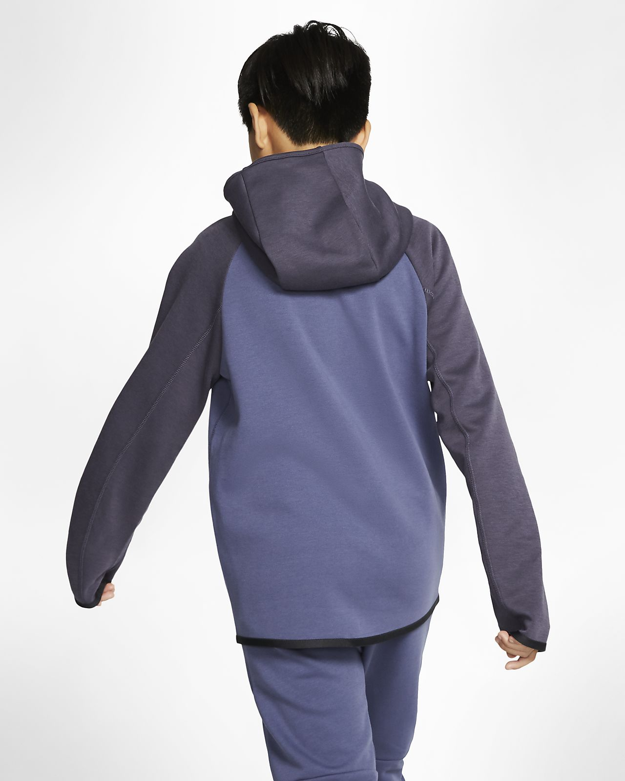 Nike Sportswear Tech Fleece Big Kids' Full Zip Jacket