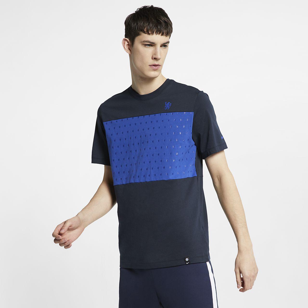 切尔西男子足球T恤