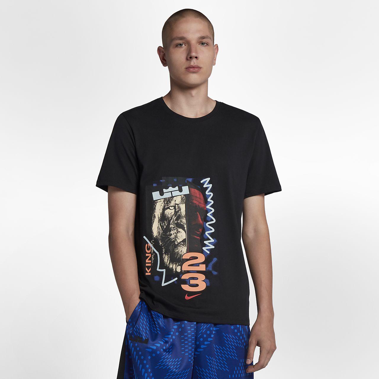 Playera de básquetbol para hombre LeBron Nike Dri-FIT
