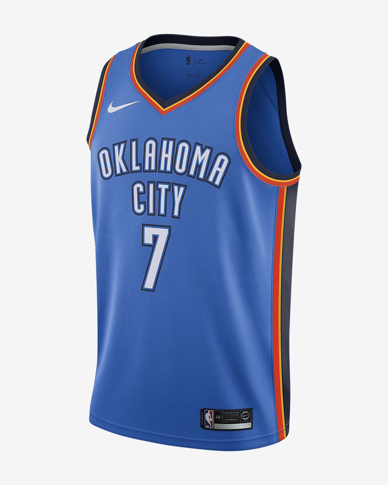 Carmelo Anthony Icon Edition Swingman (Oklahoma City Thunder) Men's Nike NBA Connected Jersey