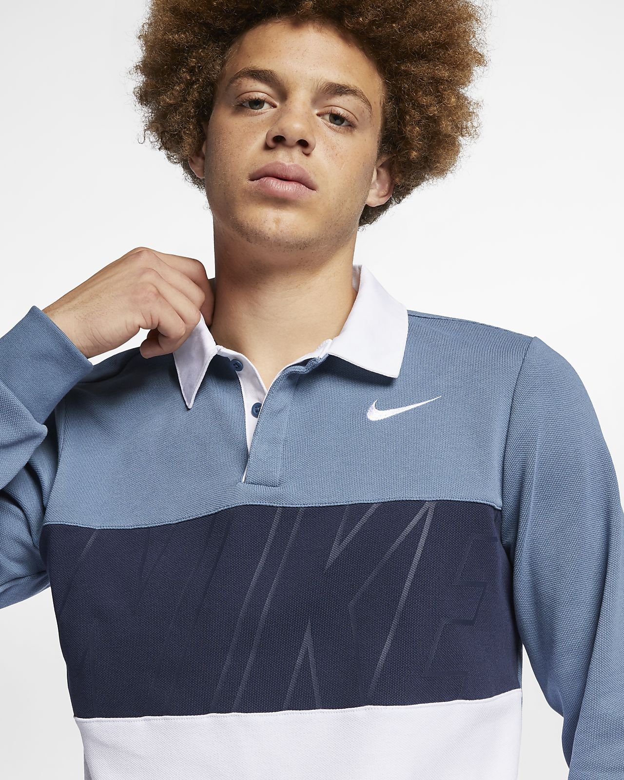 a77abf42 Nike SB Dri-FIT Men's Long-Sleeve Skateboarding Polo. Nike.com SE