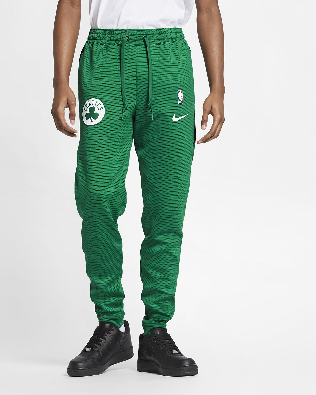 Boston Celtics Nike Therma Flex Showtime Pantalons de l'NBA - Home