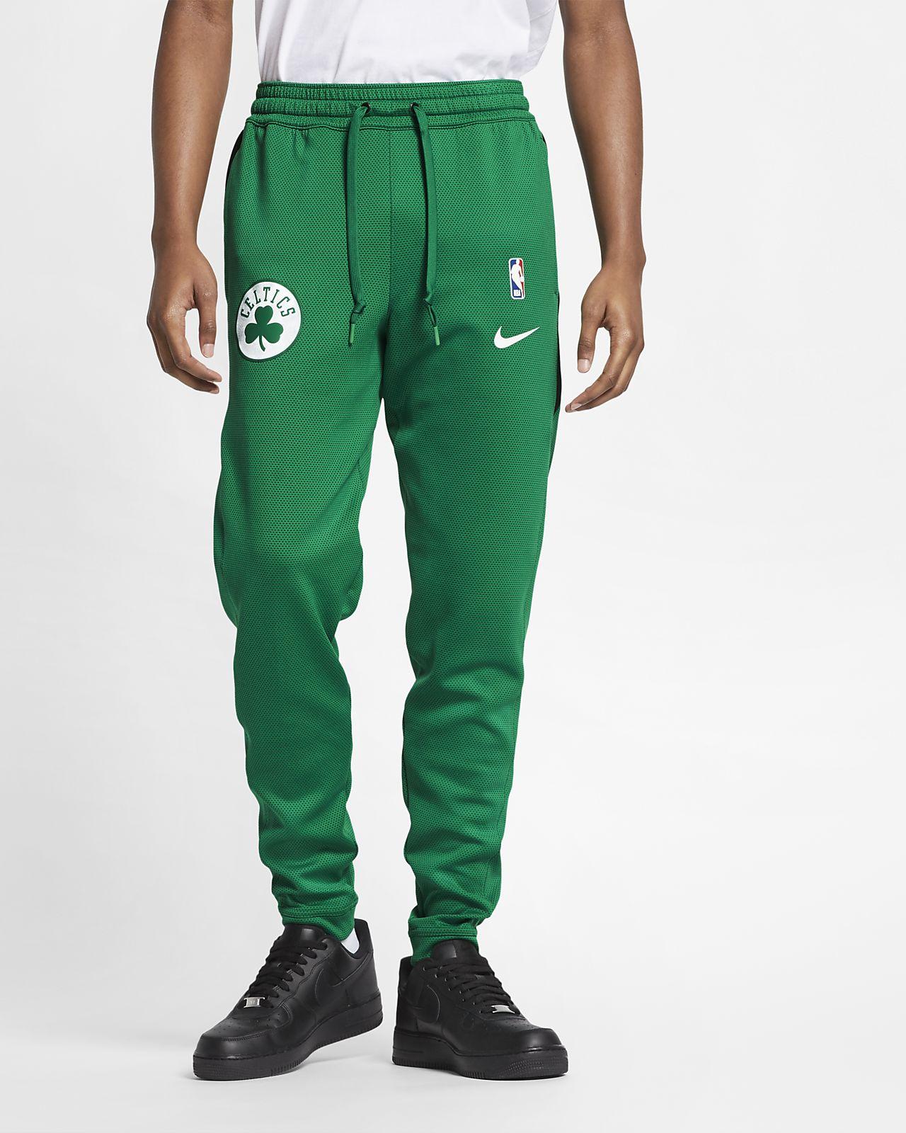 Pánské kalhoty NBA Boston Celtics Nike Therma Flex Showtime