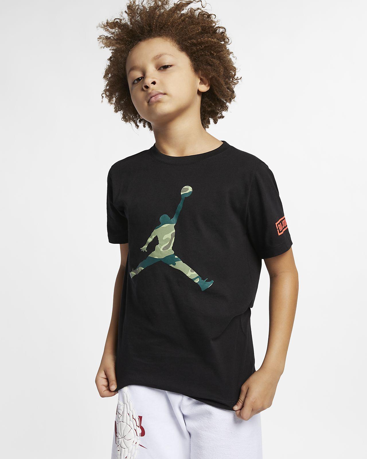 a0a74b51a606 Jordan City of Flight Older Kids  (Boys ) T-Shirt. Nike.com GB