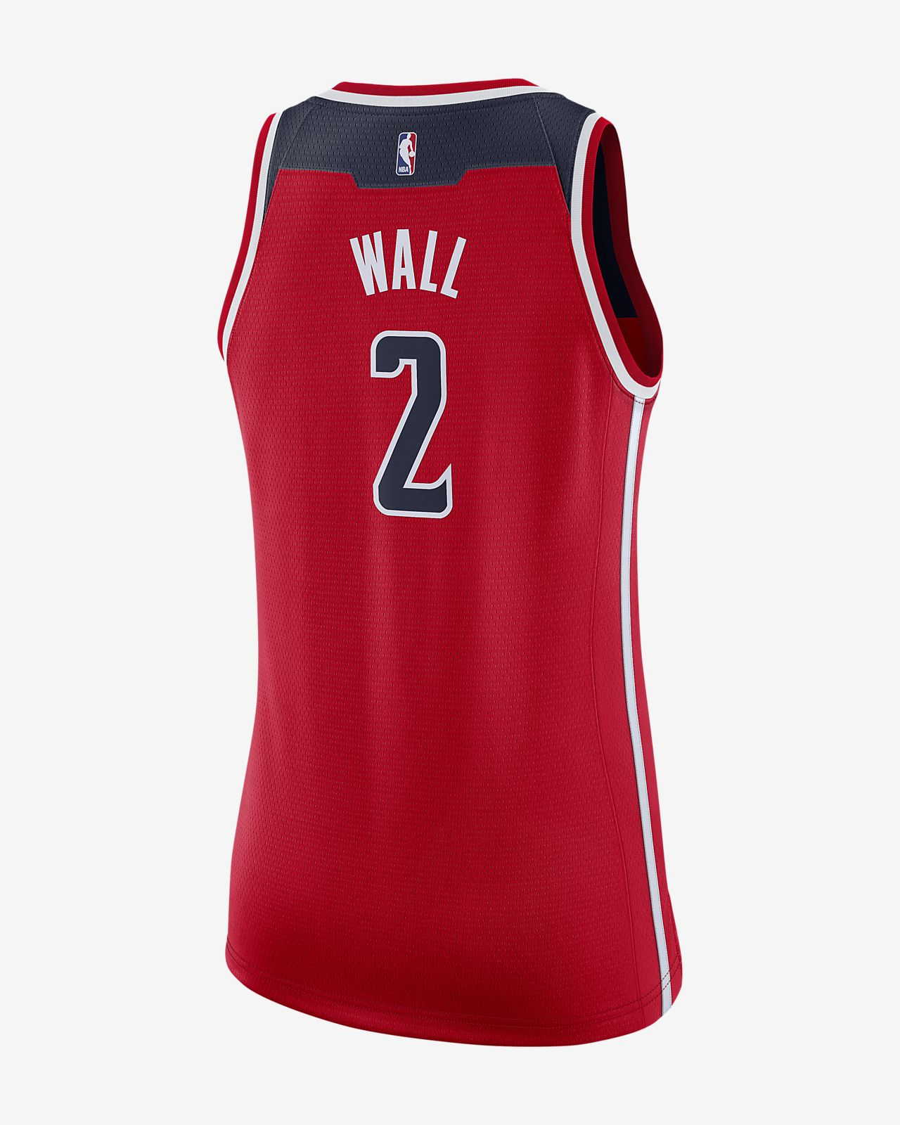 separation shoes 7719e a0af2 ... John Wall Icon Edition Swingman (Washington Wizards) Women s Nike NBA  Connected Jersey