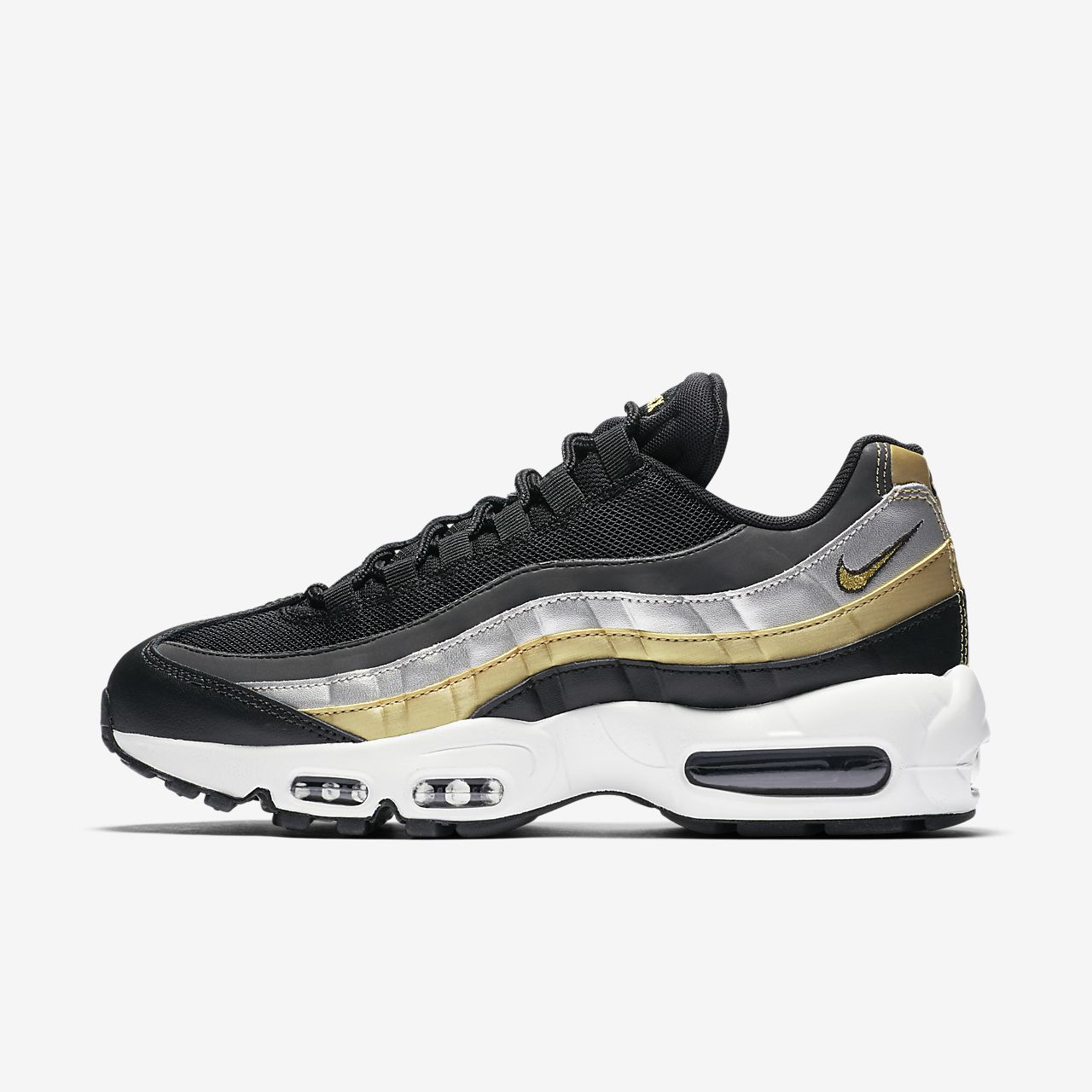 timeless design a57f9 e6a30 Womens Shoe. Nike Air Max 95 Lux Metallic