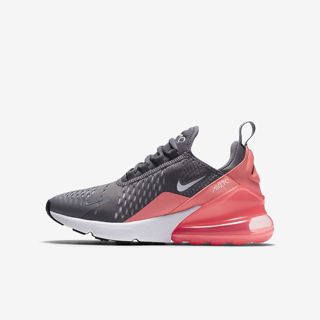 Nike Youth Air Max 90 Racer Pink Black Leather Trainers 38.5 EU oXxkeji