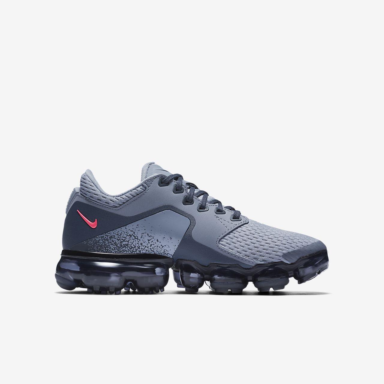 Chaussures Nike Air Vapormax argentées garçon U0m7x