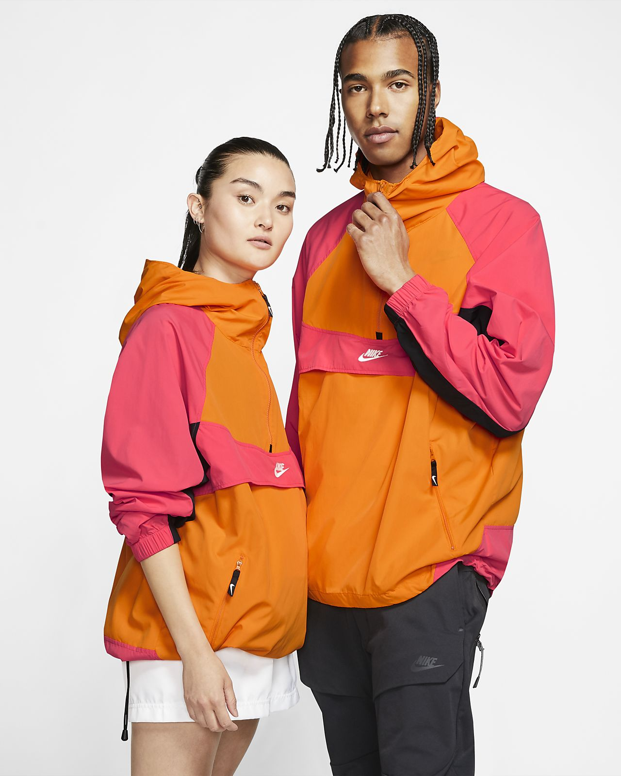 Куртка из тканого материала с капюшоном Nike Sportswear