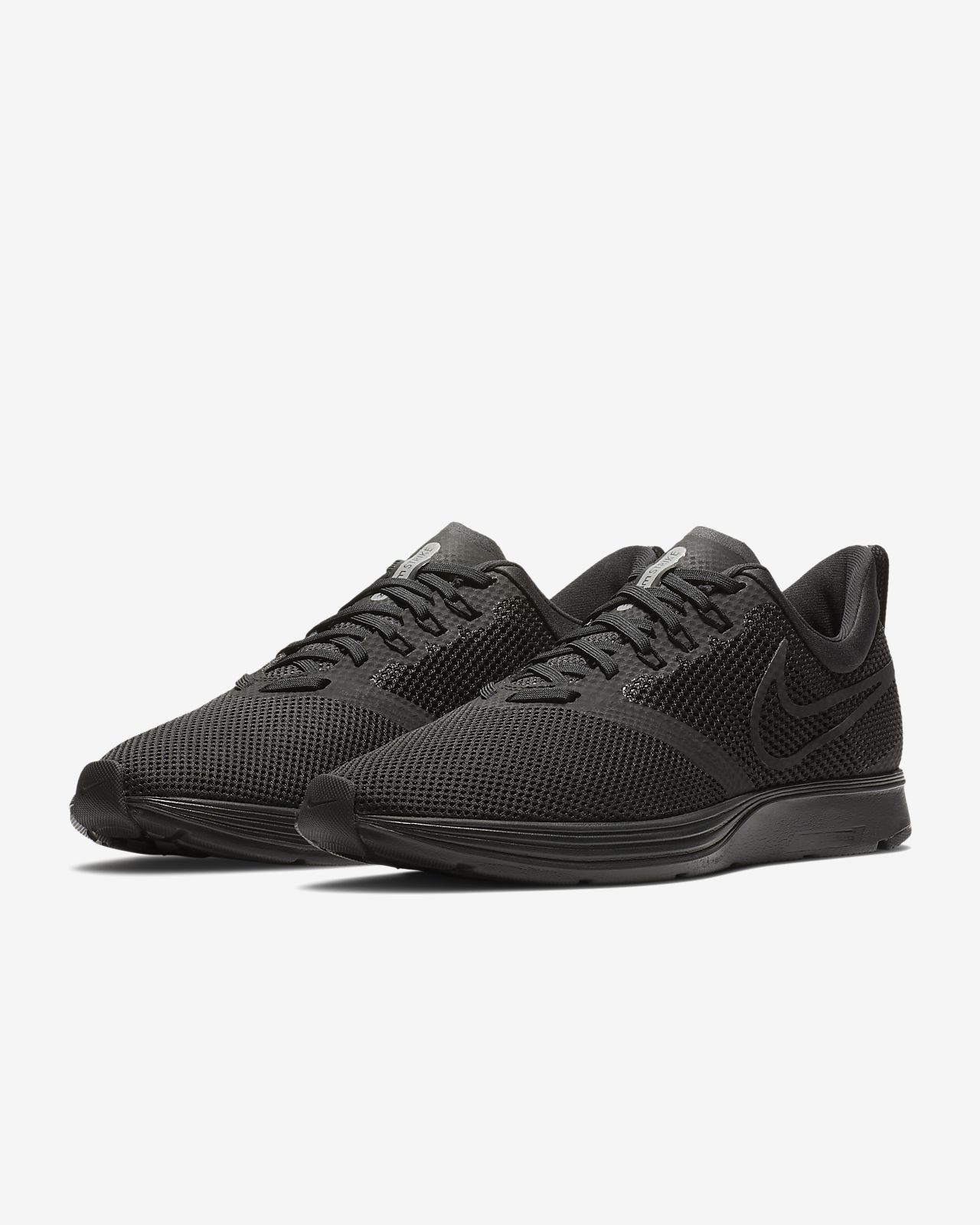 Nike Running Zoom Strike Trainers In Triple Black AJ0189-010 outlet 2015 sale in China free shipping 100% original pictures FKhQwe5