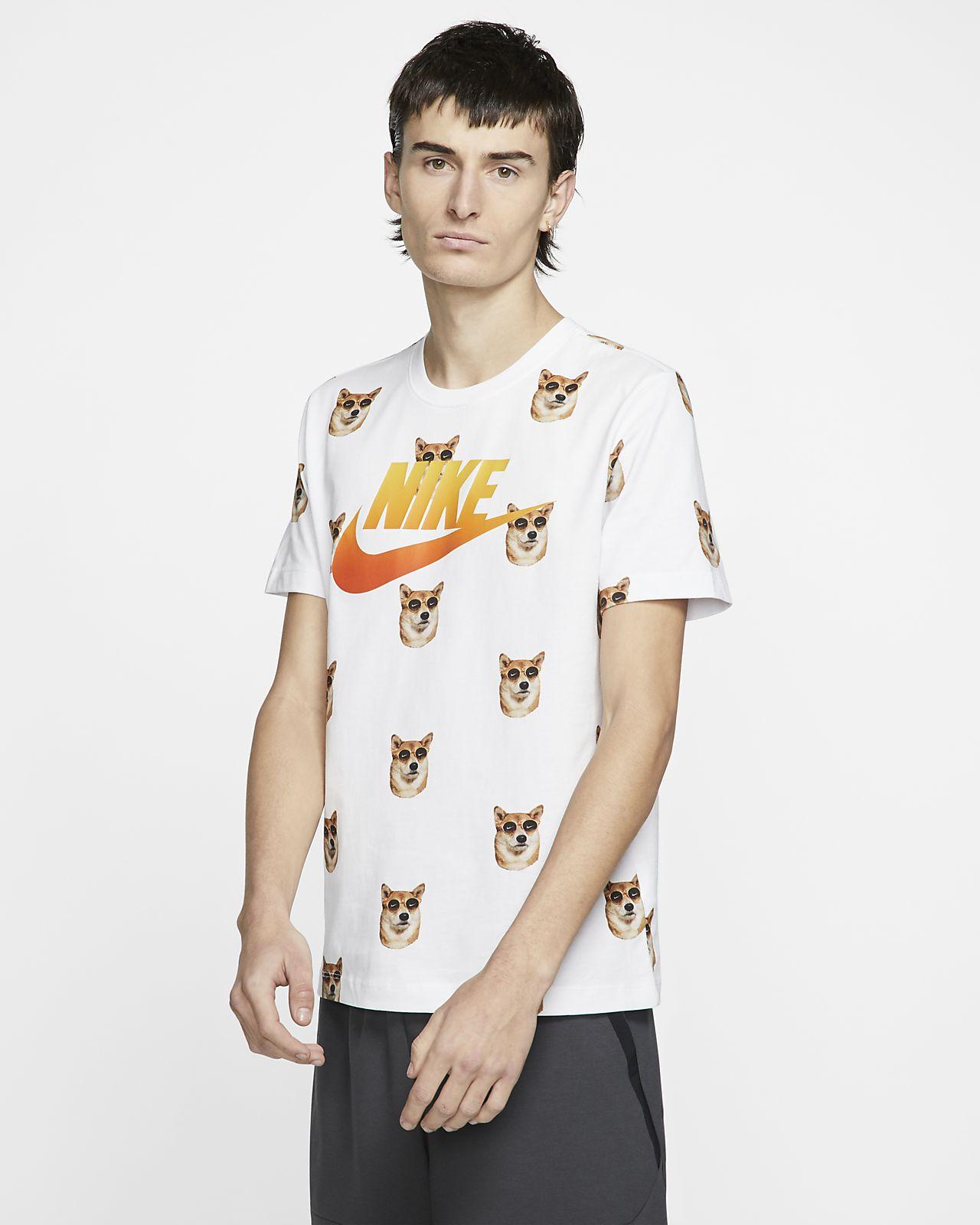 56526200d6d2bc Nike Sportswear Men's Printed T-Shirt. Nike.com ID