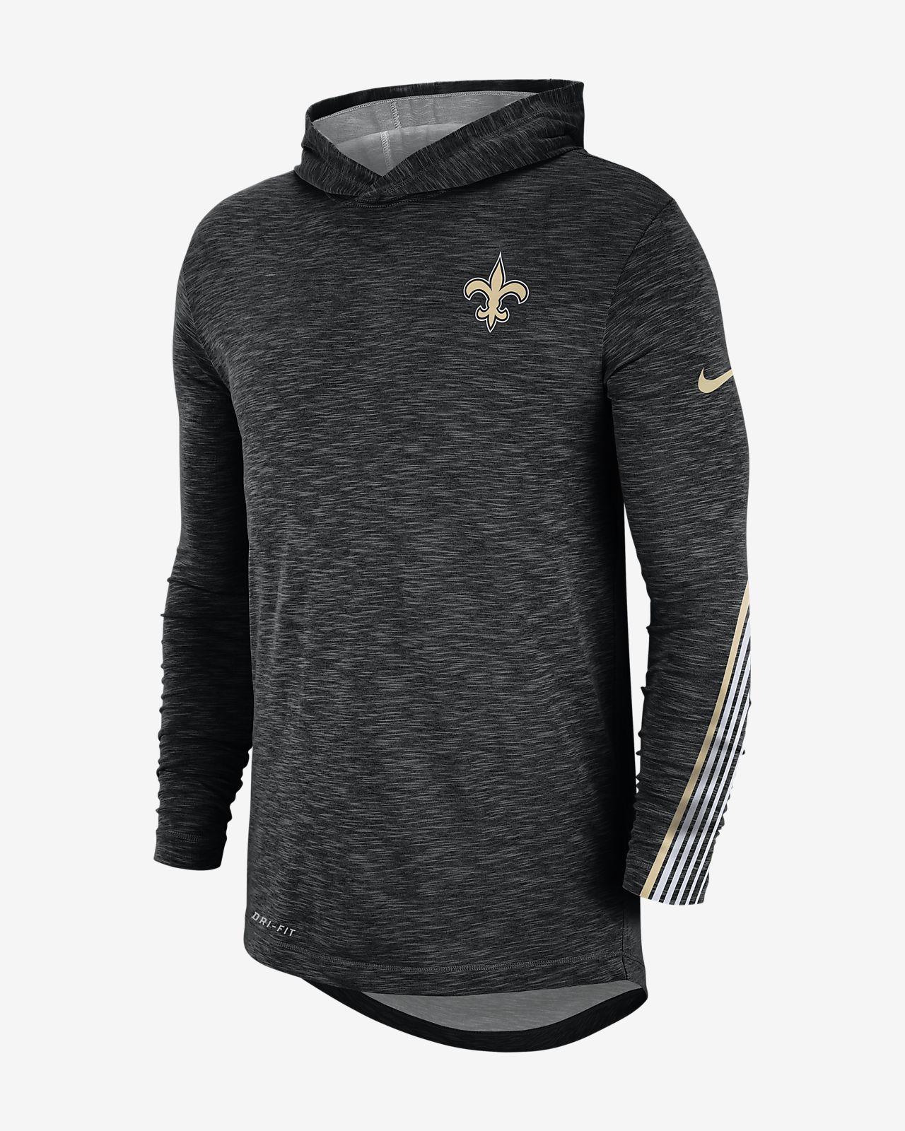 the best attitude efdba 1ad9f Nike Dri-FIT (NFL Saints) Men's Hoodie