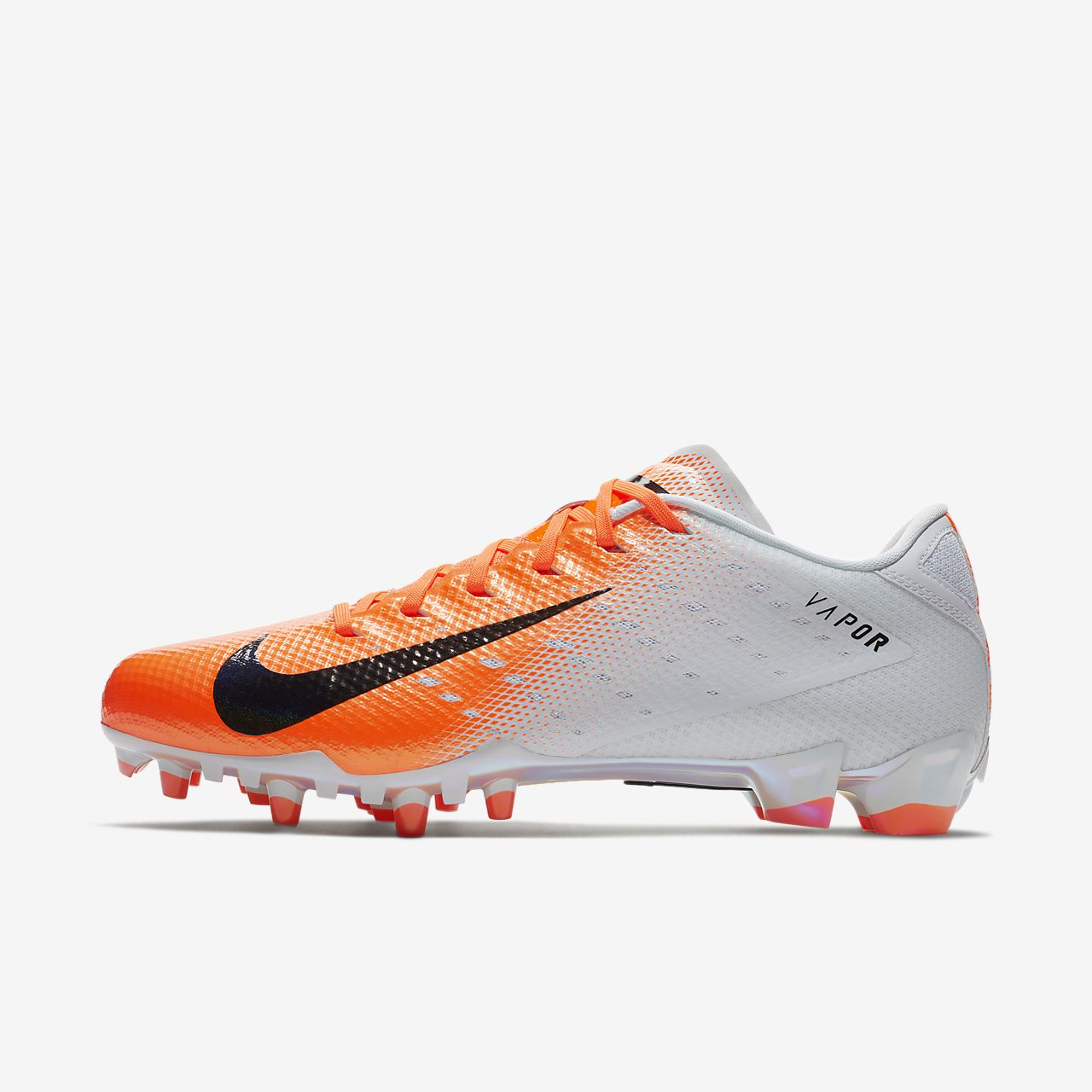 c66dd6625d5 white nike football cleats lebron high top shoes