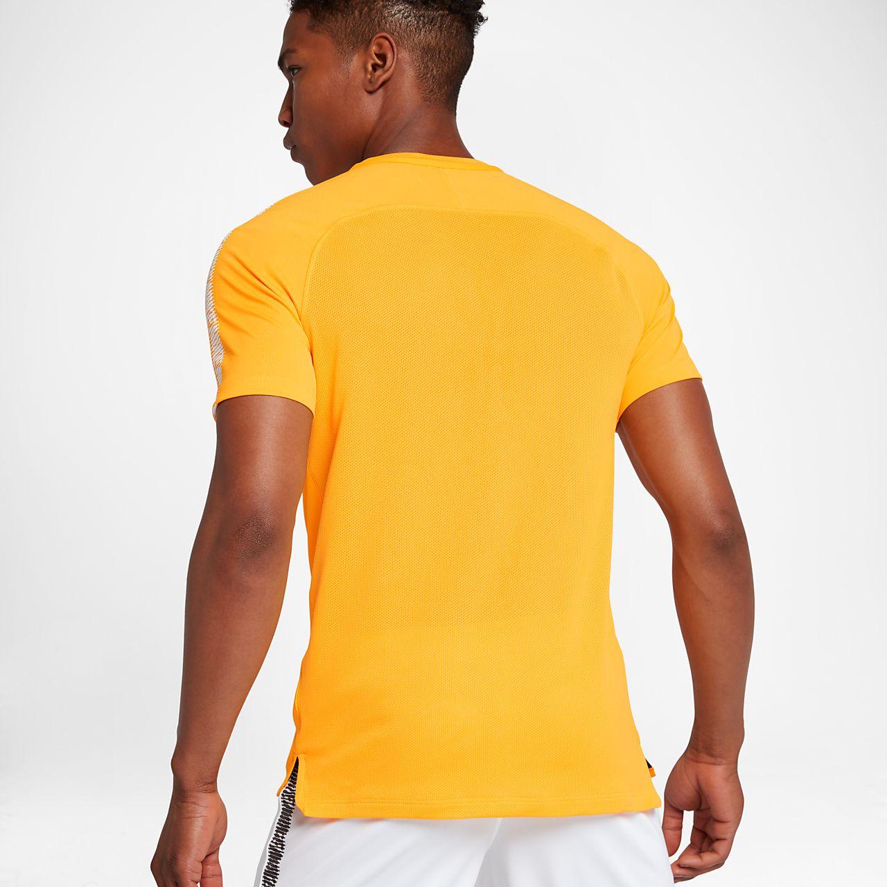 Nike Breathe Squad Men Short-Sleeve Football Top