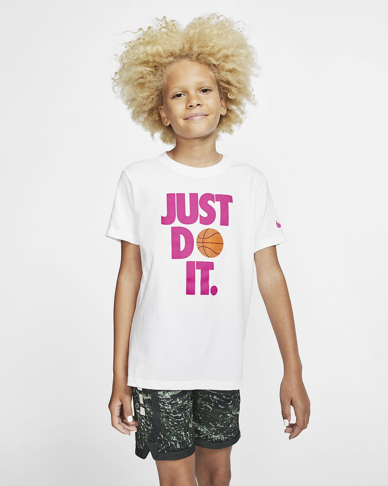 Nike Dri-FIT Big Kids' (Girls') Basketball T-Shirt
