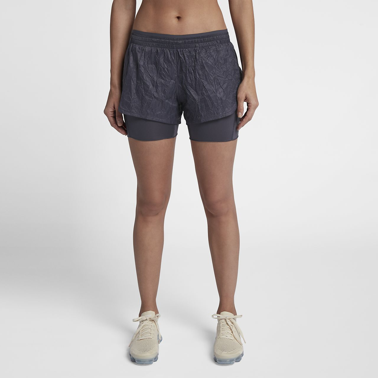 Nike Run Division 女款 2-in-1 跑步短褲