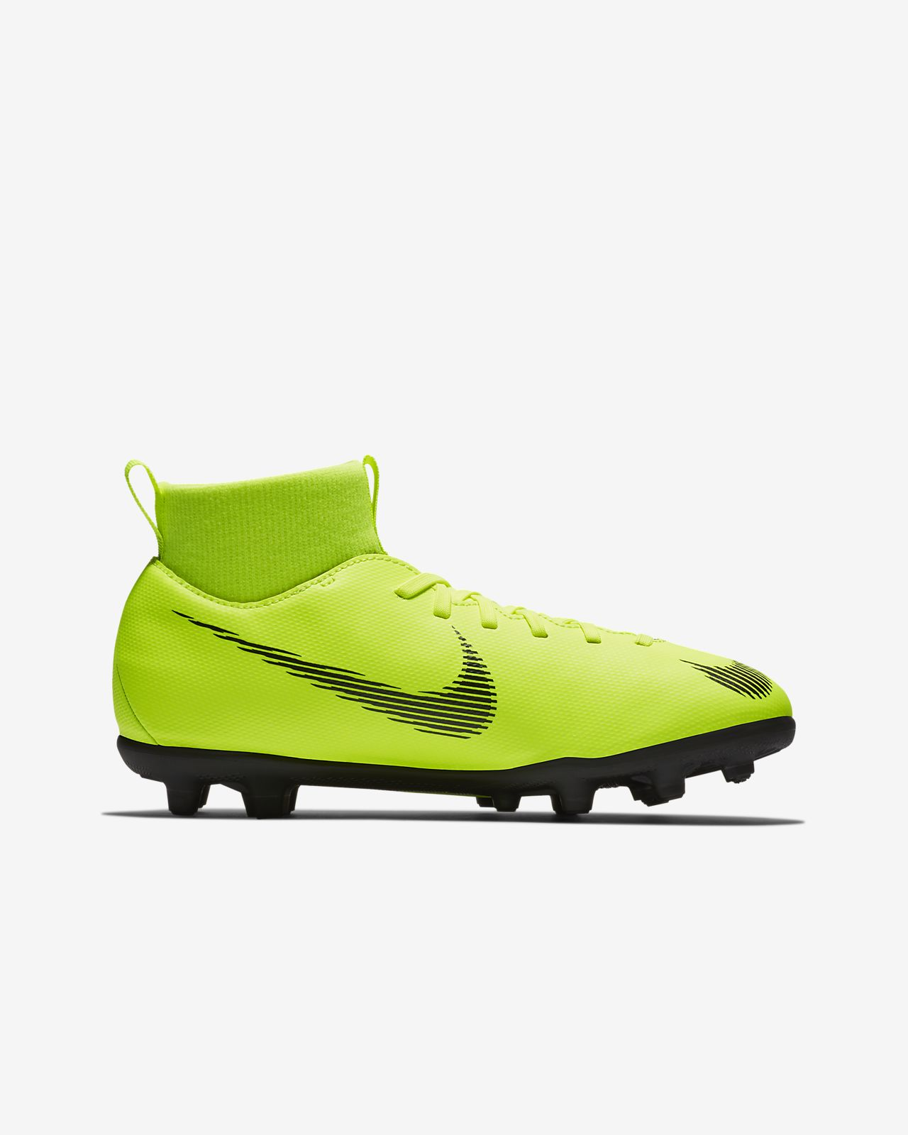 first rate 6ad9f cd46f ... Nike Jr. Mercurial Superfly VI Club Younger Older Kids  Multi-Ground  Football