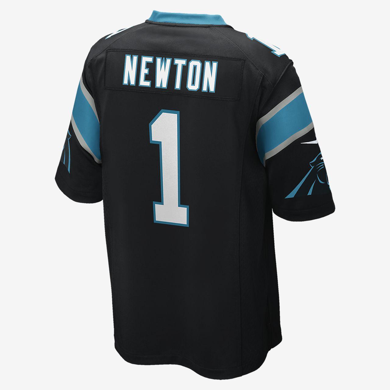 9672afc8 ... NFL Carolina Panthers (Cam Newton) Men's Football Home Game Jersey