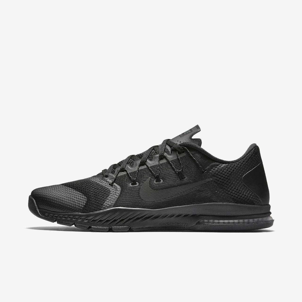 Nike Men's Zoom Train Complete Black Black Black Size 8 882119 003