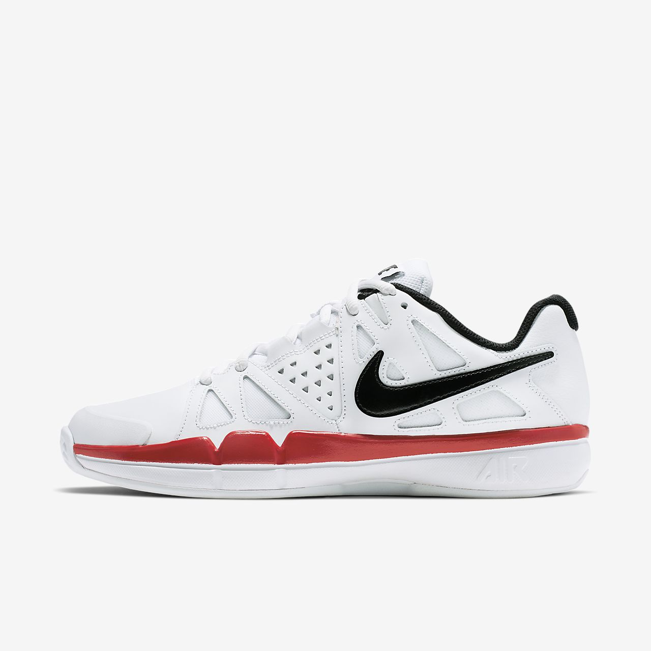 Nike - Vapeur Air Avantage Cuir Chaussures De Tennis - Hommes - Chaussures - Blanc - 44,5