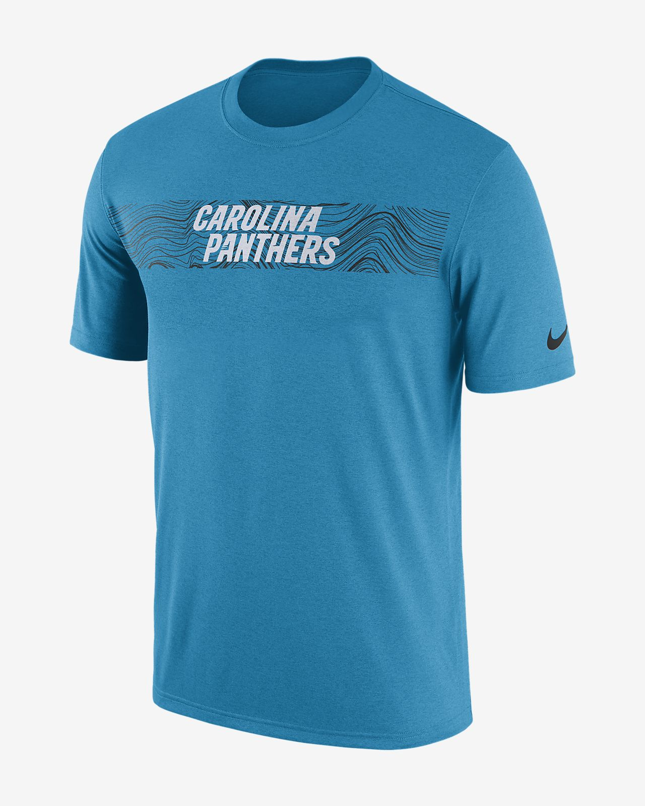 Playera para hombre Nike Dri-FIT Legend Seismic (NFL Panthers)