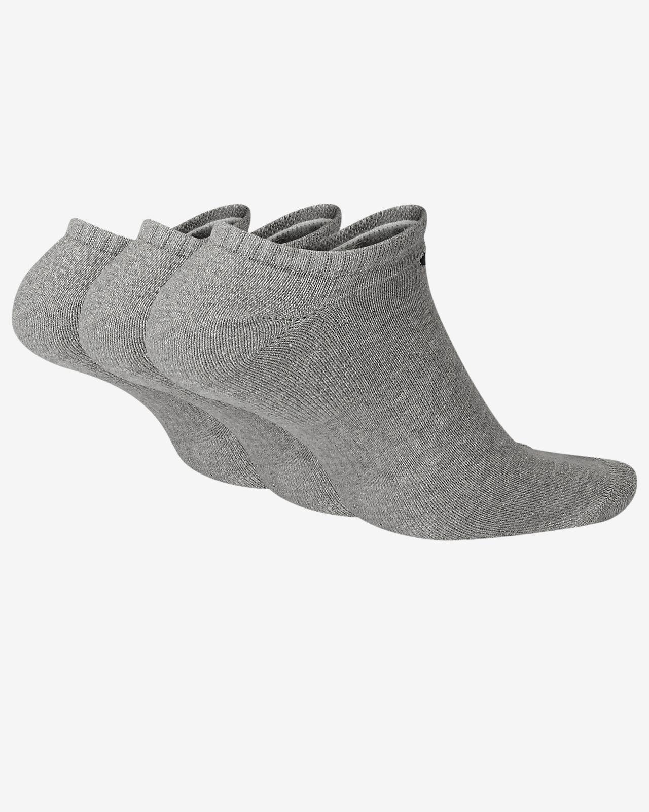 size 40 65609 49db1 ... Nike Everyday Cushion No-Show Training Socks (3 Pair)
