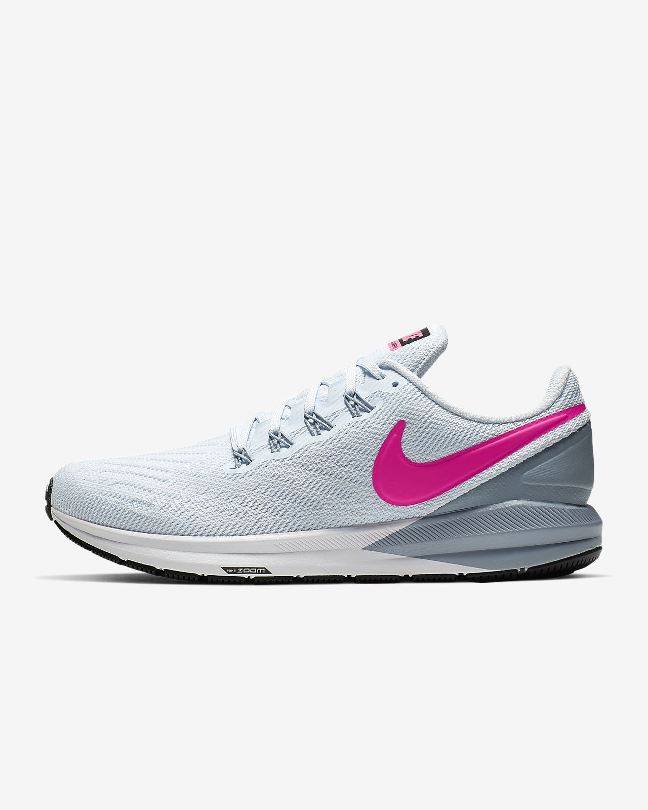 nike air zoom structure 21 dames zwart