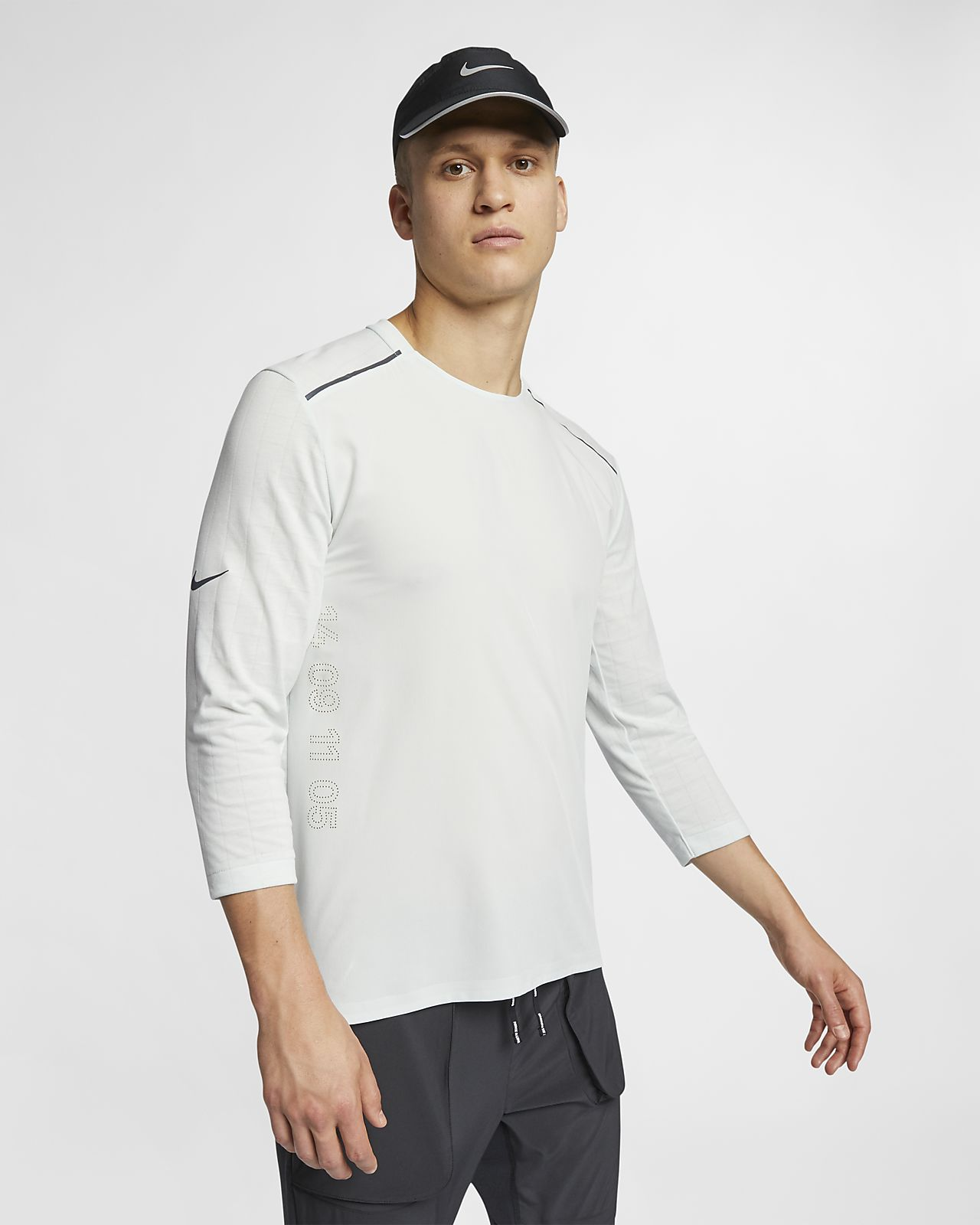 Nike Rise 365 Tech Pack Laufoberteil mit 3/4-Ärmel für Herren