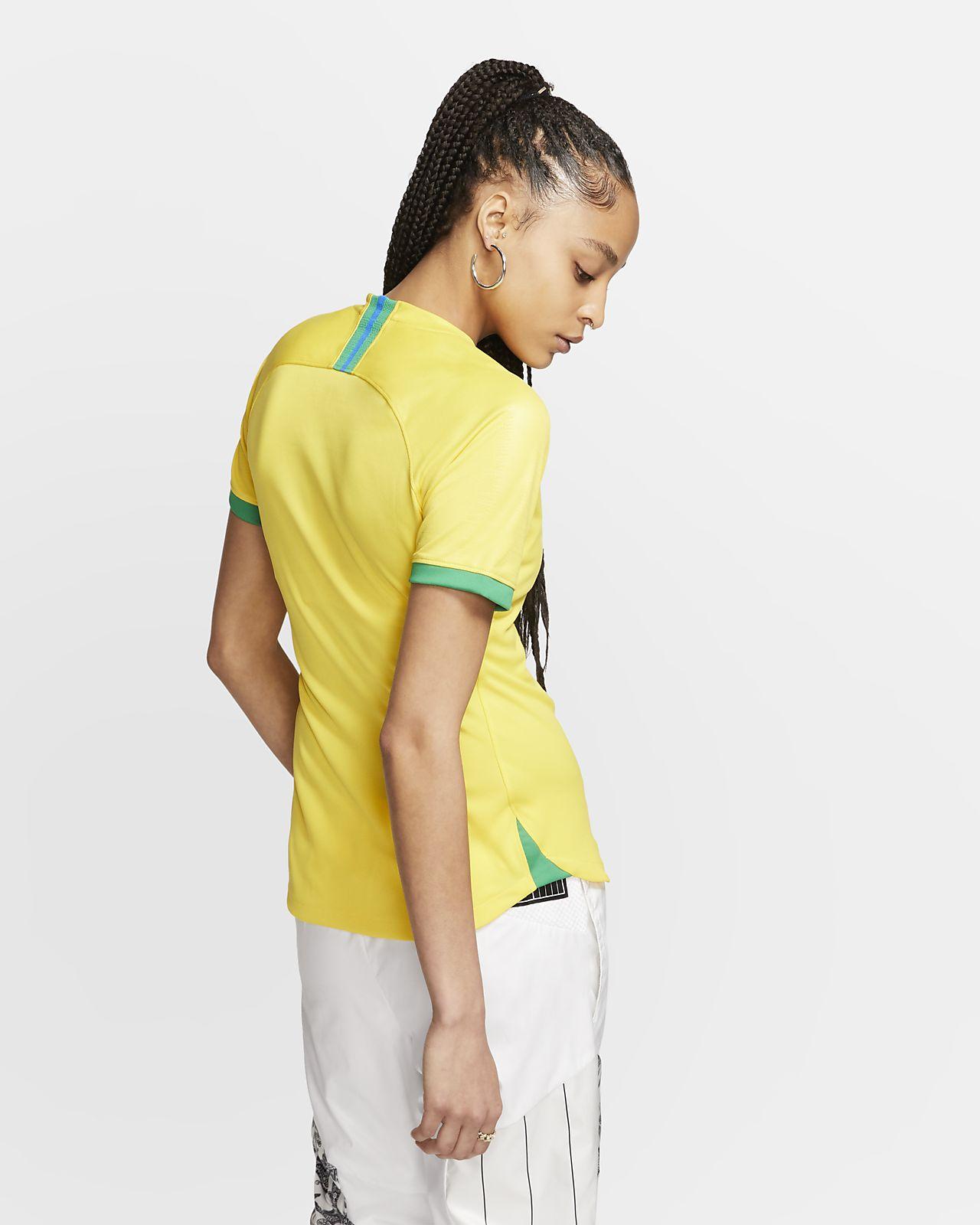 a40b0bdf Brazil 2019 Stadium Home Women's Football Shirt. Nike.com CA