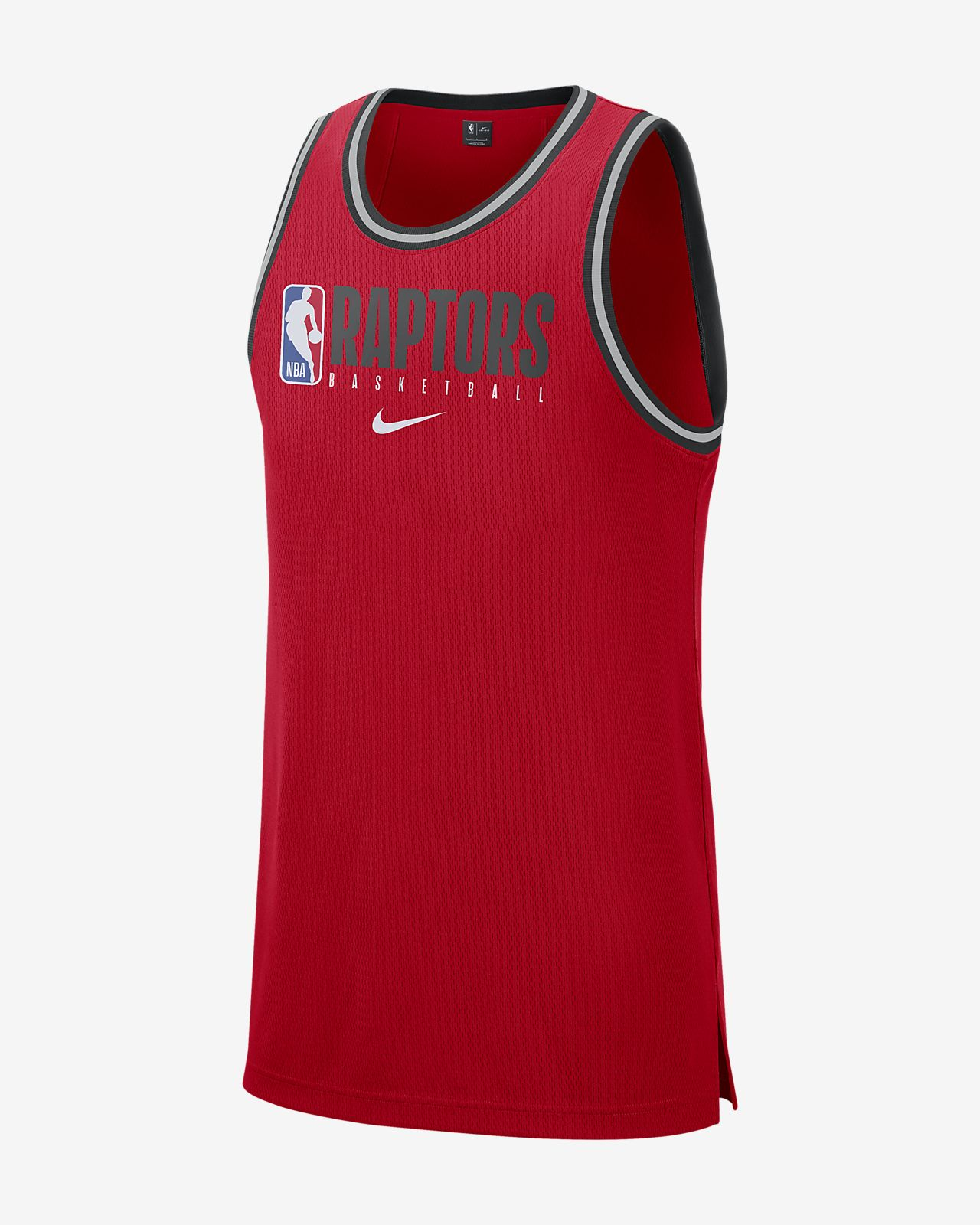 Haut sans manches NBA Toronto Raptors Nike Dri-FIT pour Homme