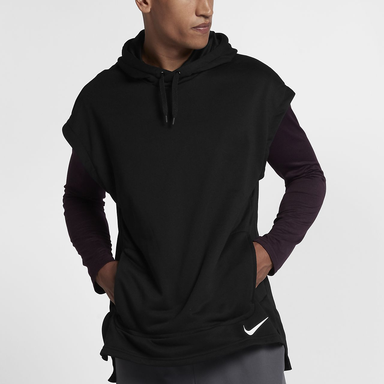Nike Dri-FIT Men's Sleeveless Training Hoodie