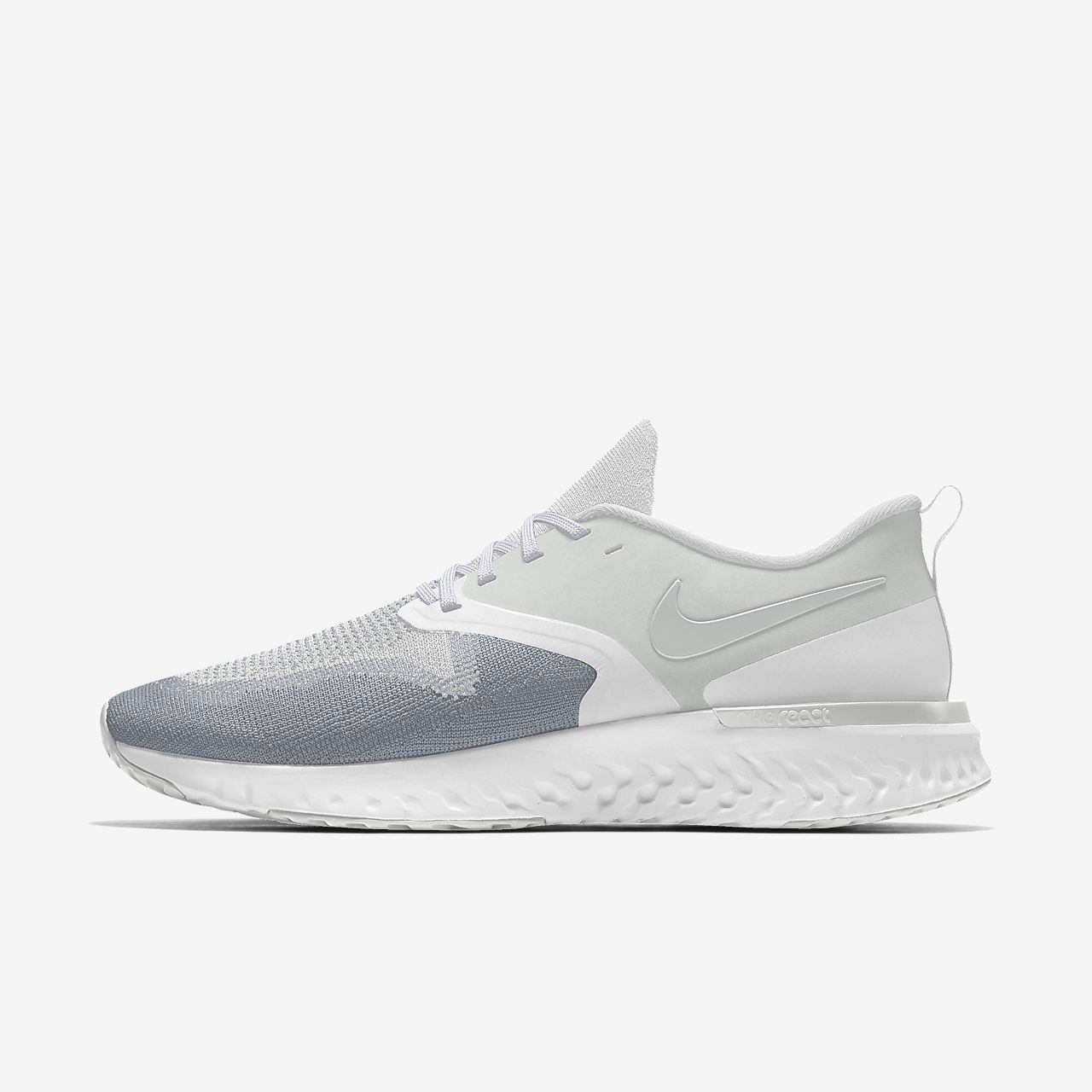 Nike Odyssey React 2 Flyknit By You Sabatilles personalitzables de running - Home