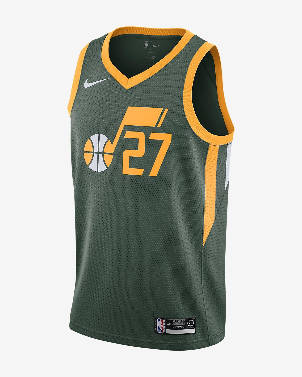 Męska koszulka Nike NBA Connected Jersey Rudy Gobert Earned Statement Edition Swingman (Utah Jazz)