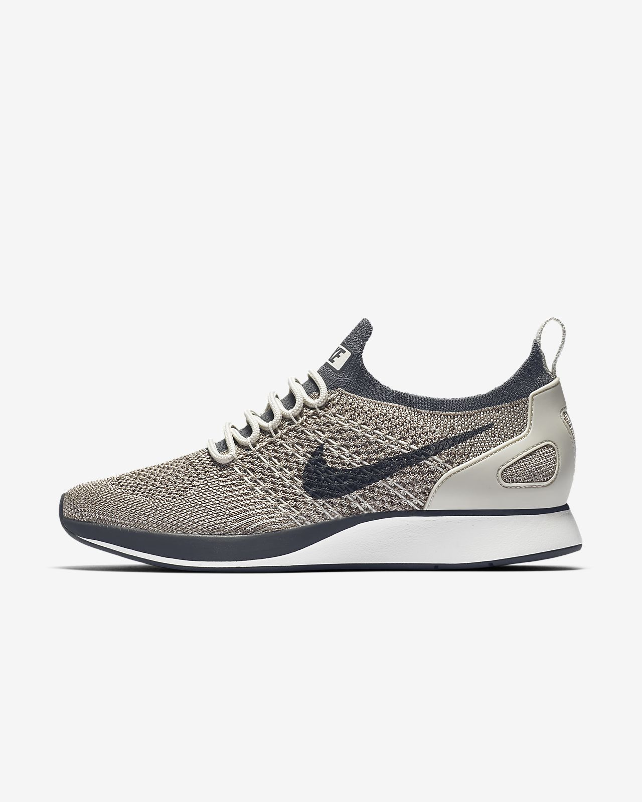 Nike Air Zoom Mariah Flyknit Racer Womens AA0521-002 Grey Running Shoes