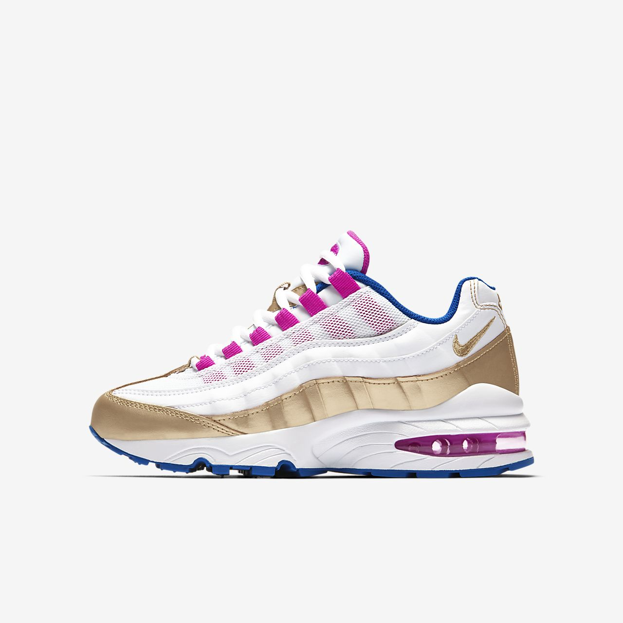nike air max 95 white and gold nz