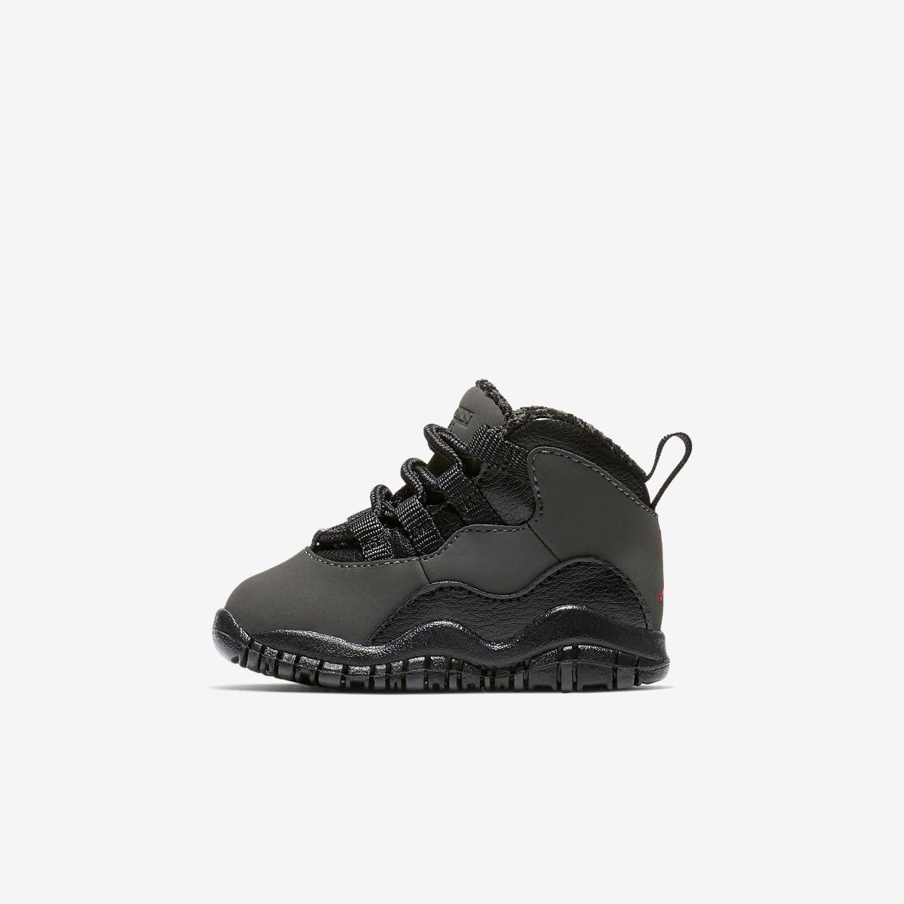 ... Air Jordan Retro 10 (2c-10c) Infant/Toddler Shoe