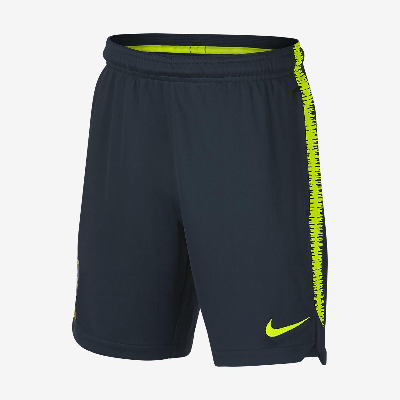 Brasil CBF Dri-FIT Squad Pantalons curts de futbol - Nen/a