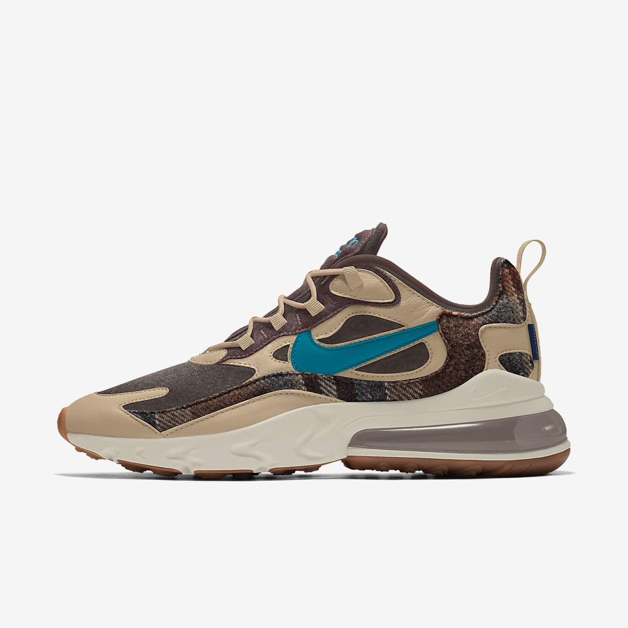 Nike Air Max 270 React Pendleton By You Custom Men's Shoe