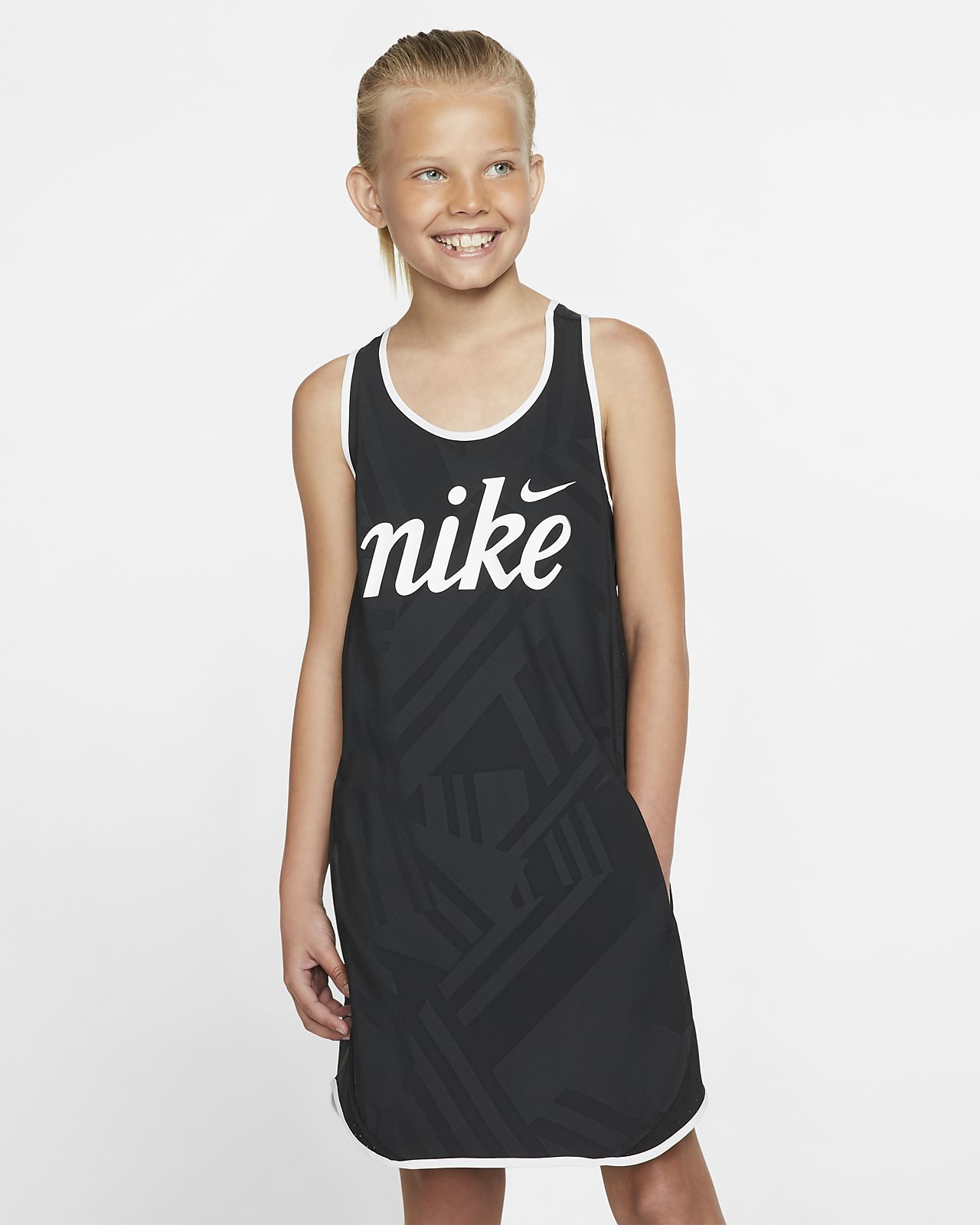Nike Sportswear Older Kids' (Girls') Printed Dress