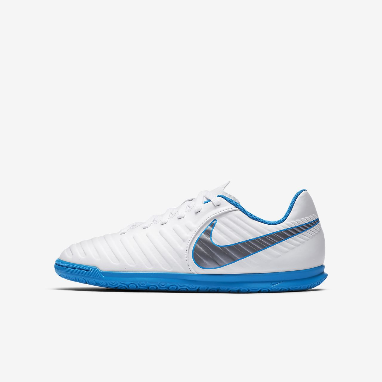 ... Nike Jr. Tiempo Legend Club VII IC Younger/Older Kids' Turf Football  Boot