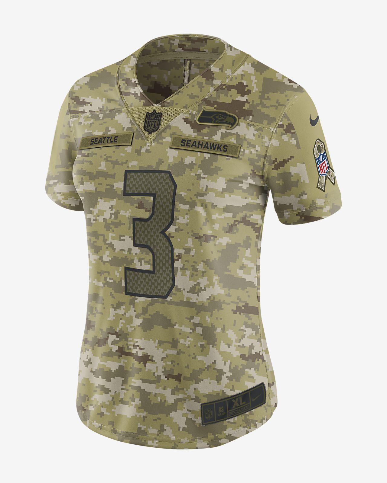 e00b17022 Women s Football Jersey. NFL Seattle Seahawks Limited (Russell Wilson)